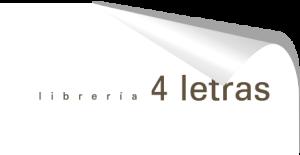 Librería 4 letras - logotipo