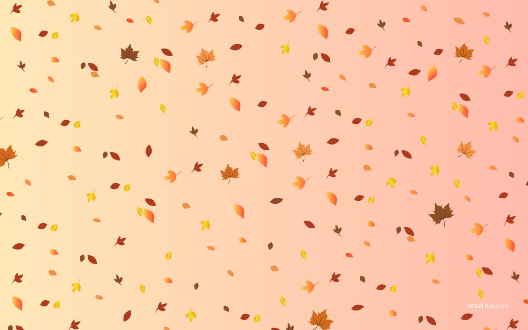 Los mejores fondos para este otoño GRATIS