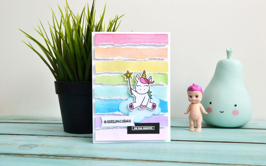 Tarjeta | Arre unicornio