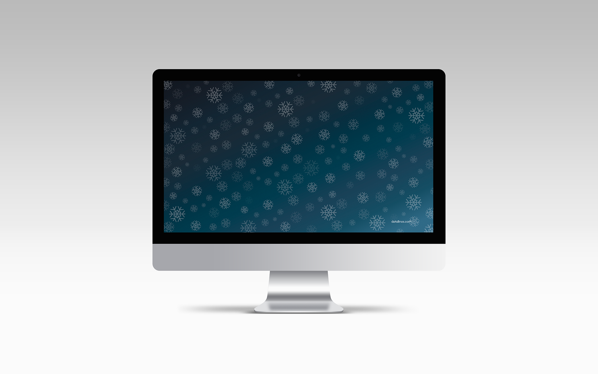 Noche invernal, iMac
