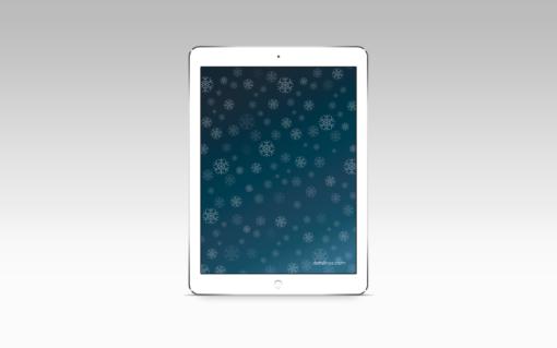 Noche invernal, iPad