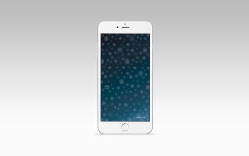 Noche invernal, iPhone