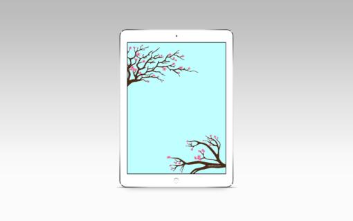 Sakura, iPad
