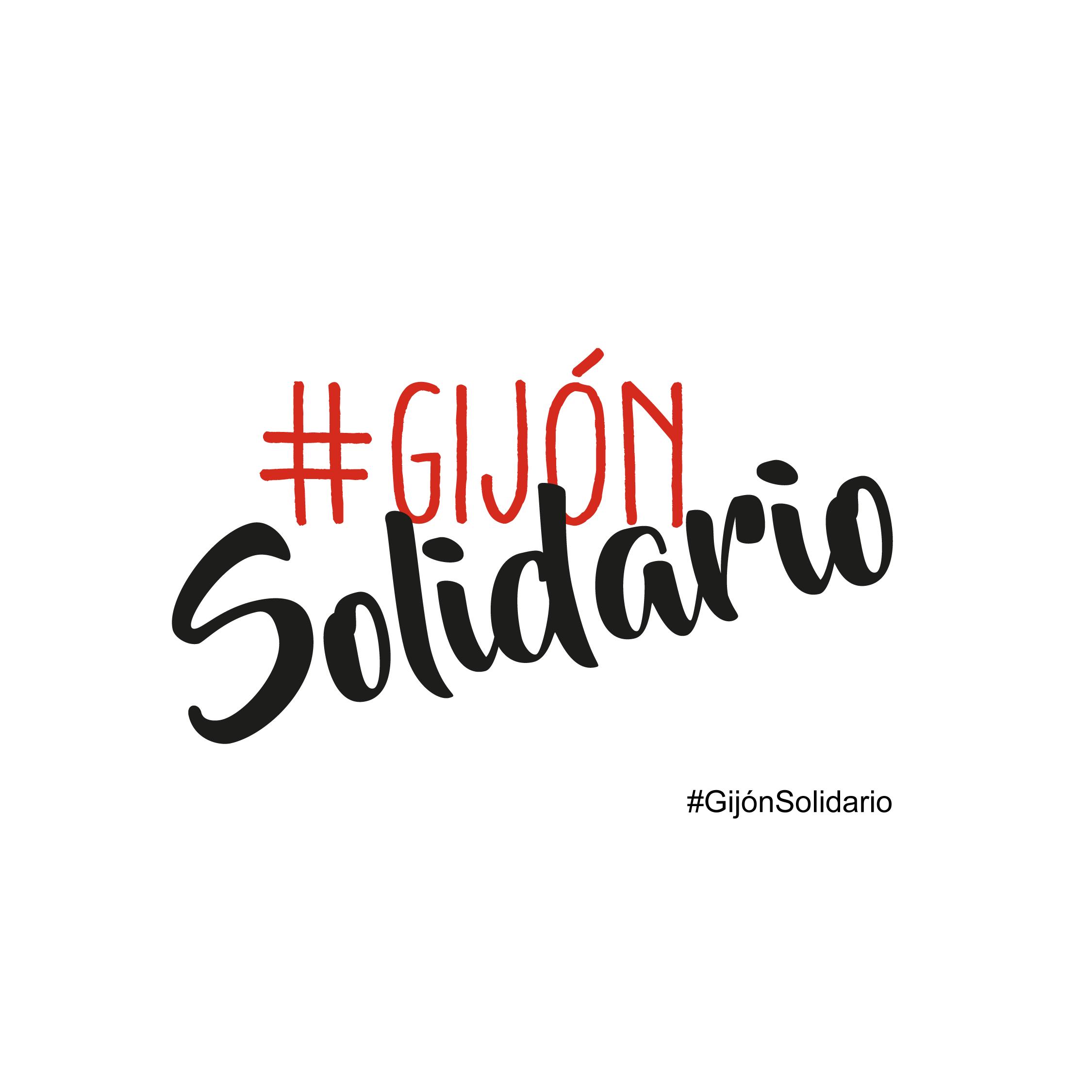 Gijón Solidario, logotipo