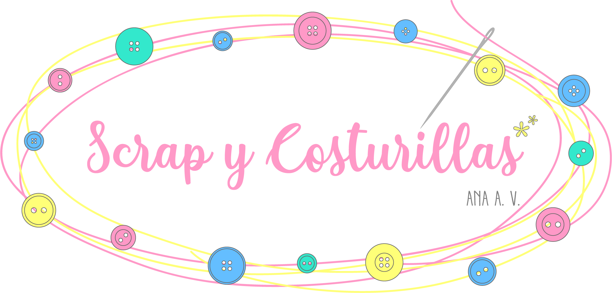 Scrap y Costurillas, logotipo