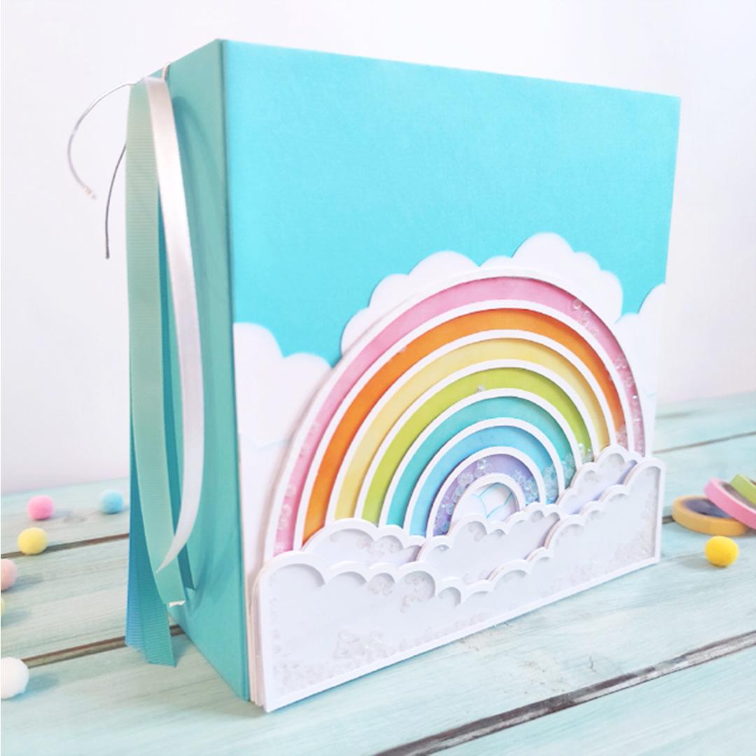 Taller arcoiris shaker